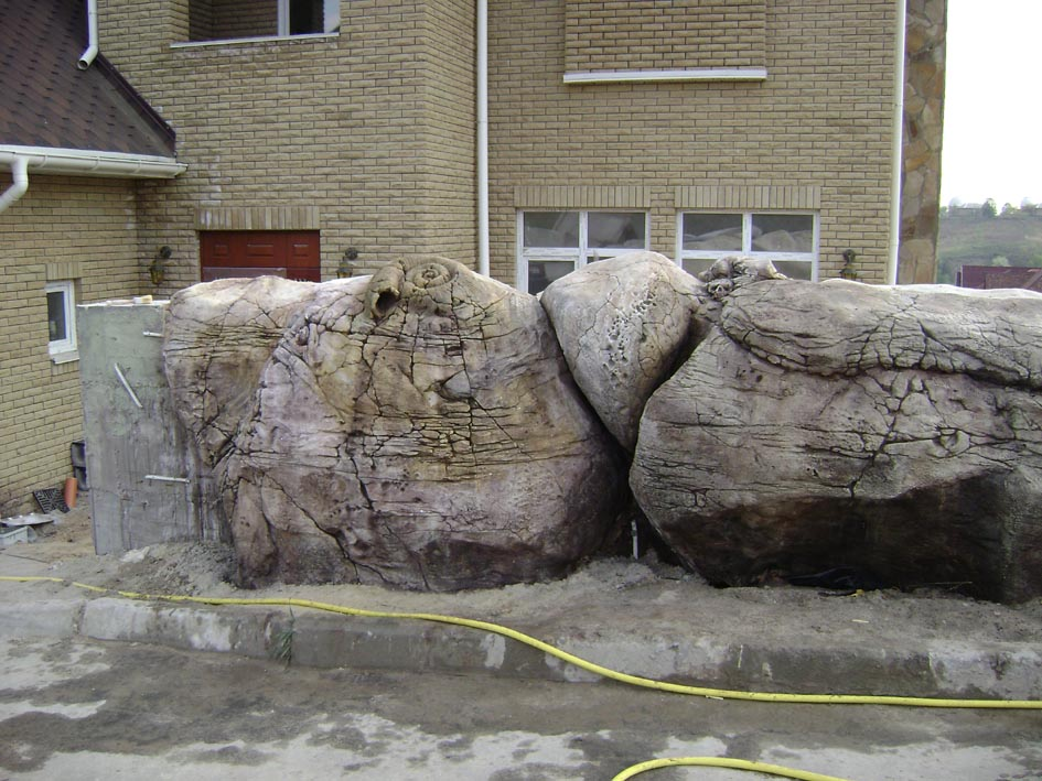 Искусственный камень декор