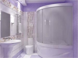 душова в ванній кімнаті