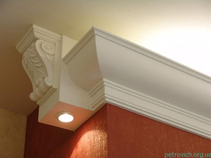 Багет на потолок