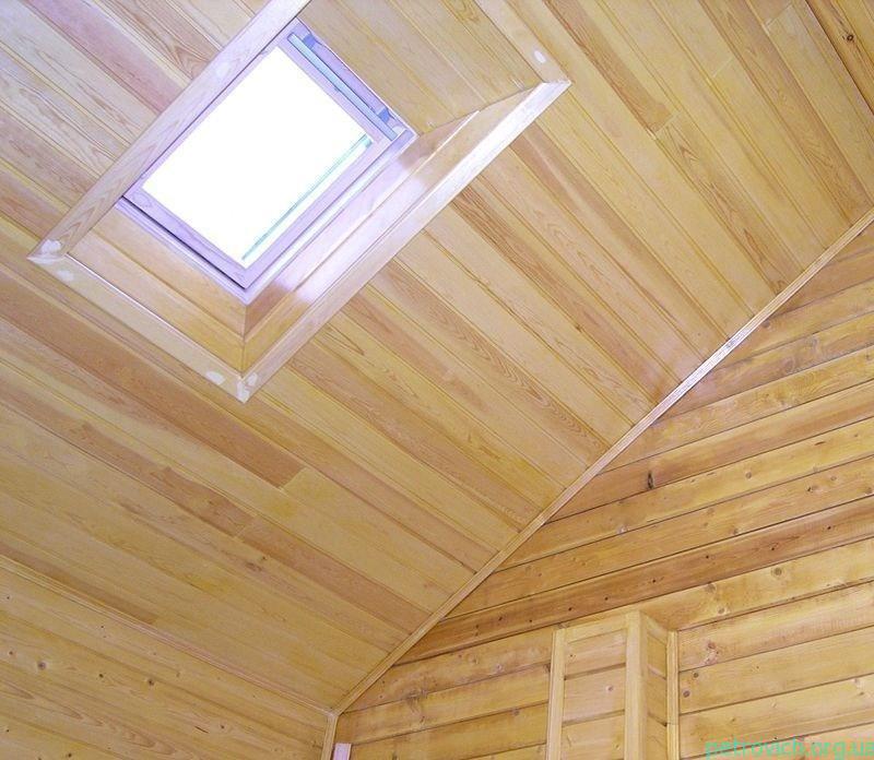 Вагонка на потолке