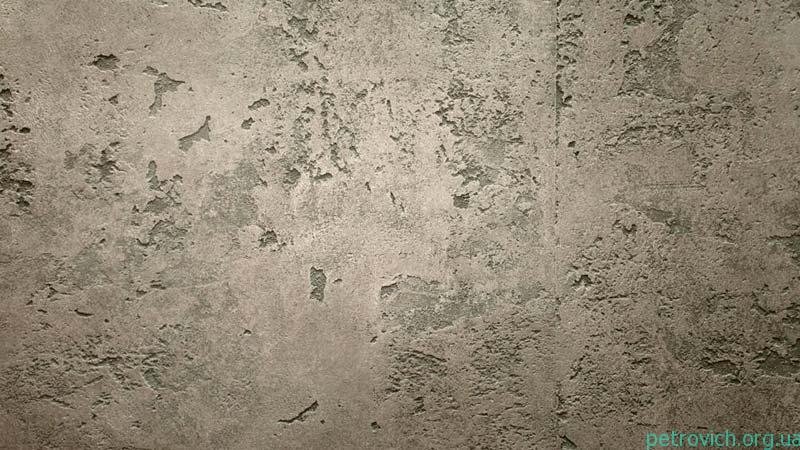 Нанесение штукатурки под бетон