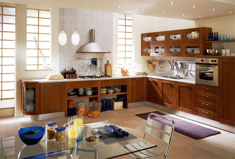кухня в европейском стиле