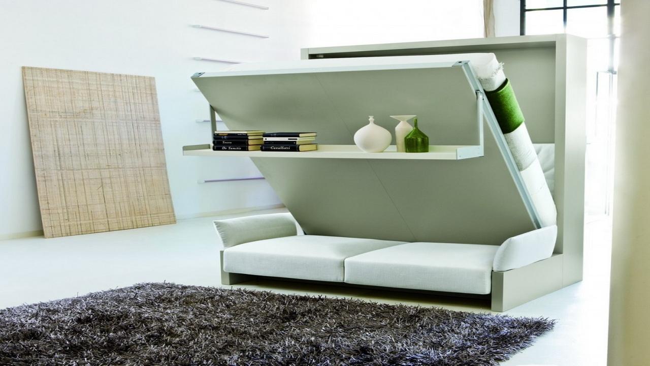 многофункциональная мебель в минимализме